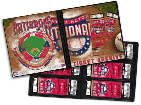 Ticket Album MLB - Washington Nationals (Holds 96 Tickets) - Peazz.com