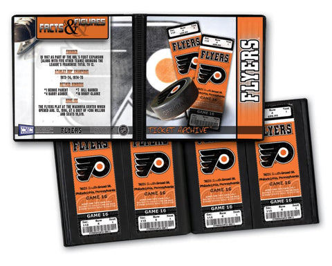 Ticket Album NHL - Philadelphia Flyers (Holds 96 Tickets) - Peazz.com