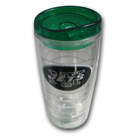 Hunter Insulated Tumbler With Patch - New York Jets - Peazz.com