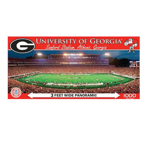 1000 Pc Stadium Puzzle- Georgia Bulldogs - Peazz.com