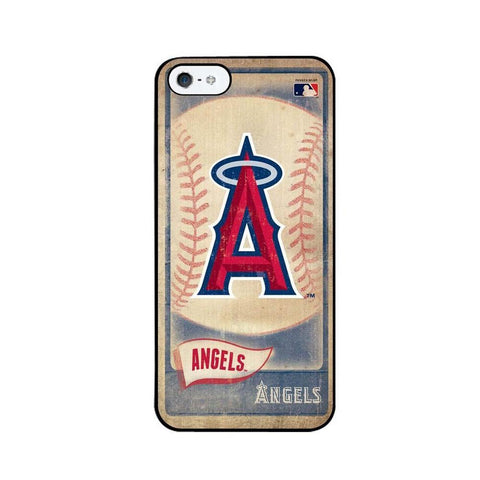 Vintage Iphone 5 Case - Los Angeles Angels - Peazz.com