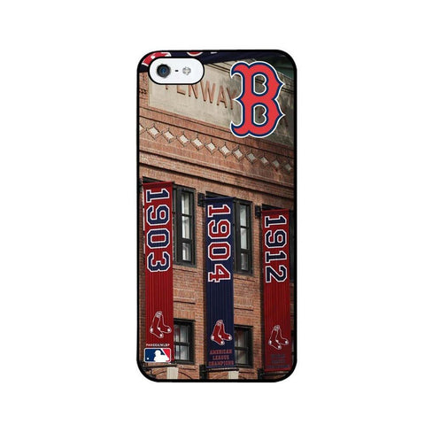 Boston Red Sox Stadium Collection Iphone 5 Case (Championship Banners) - Peazz.com