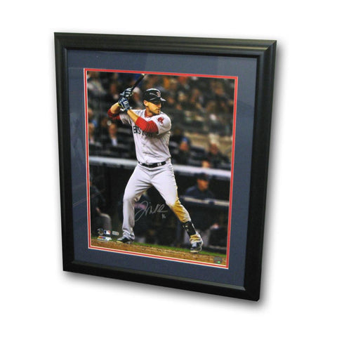 Autographed Will Middlebrooks 16-by-20 Inch Framed Batting Photo - Peazz.com
