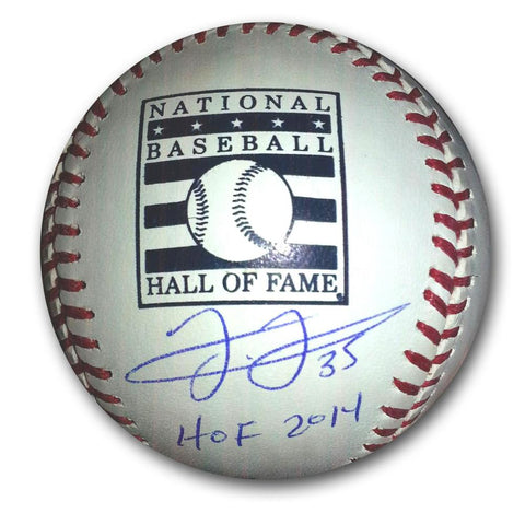 "Autographed Frank Thomas Hall of Fame logo Baseball inscribed ""HOF 14"" - Peazz.com"