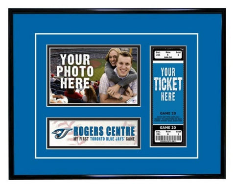Toronto Blue Jays My First Game Ticket Frame - Peazz.com