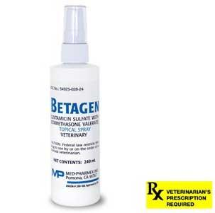 Betagen Topical Spray Rx, 240 ml -Peazz Pet