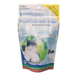 Renal Essentials Feline Bite-Sized Chews, 120 Count - Peazz Pet