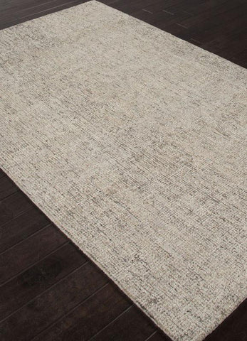 Jaipur Rugs RUG113070 Hand-Tufted Durable Wool Ivory/Gray Area Rug ( 4X6 ) - Peazz.com