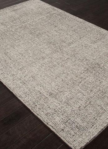 Jaipur Rugs RUG113065 Hand-Tufted Durable Wool Ivory/Gray Area Rug ( 4X6 ) - Peazz.com