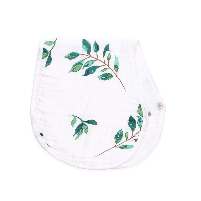 sage & leaf 2-in-1 burp cloth + bib