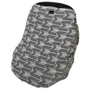 grey arrow multi-use stretchy cover