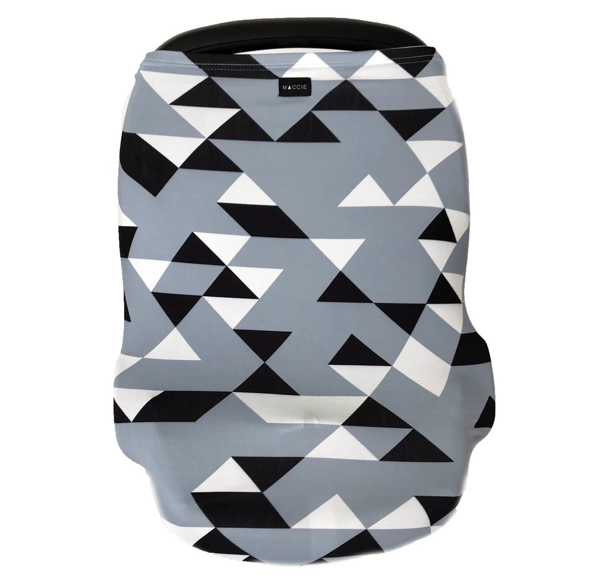 blue geometric multi-use stretchy cover