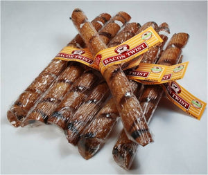 Smokehouse Bacon Twists Dog Treats
