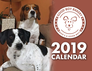 Good Boy Bakery 2019 Calendar