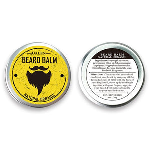 Premium Beard Care Kit - Styling Cream, Beard Oil, Comb and Brush with Storage Bag