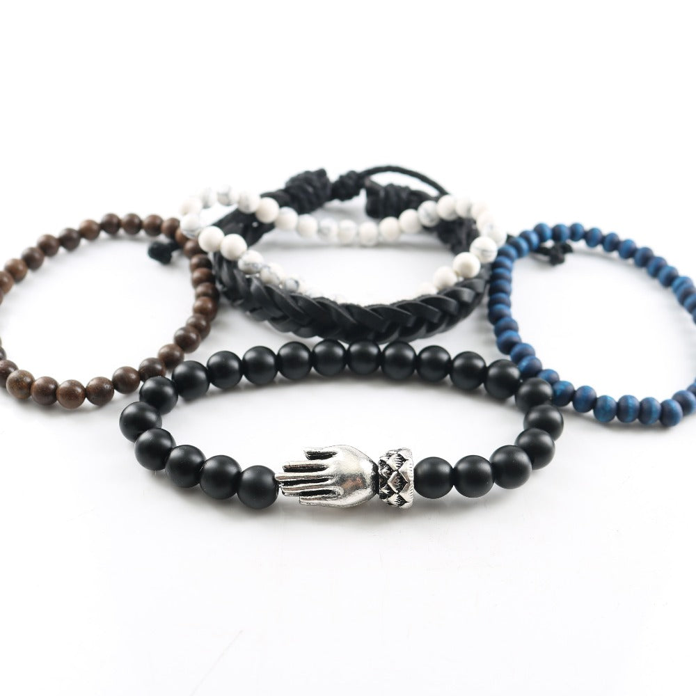 Exclusive Genuine Wrap Leather Bracelets with Signature Jewellry