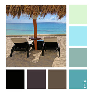 Mexico R&R  - Color Palette with HEX values