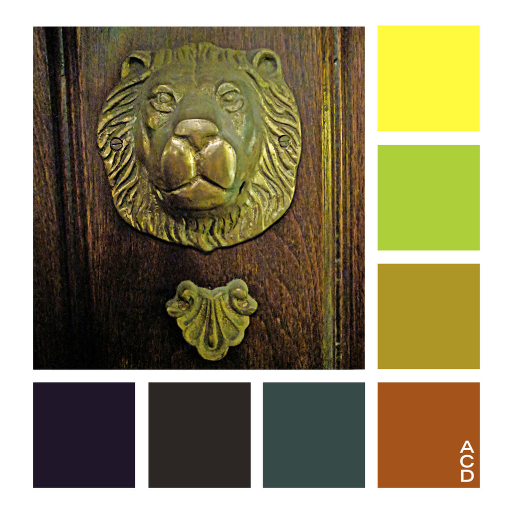 Lancaster Lion - Color Palette with HEX values