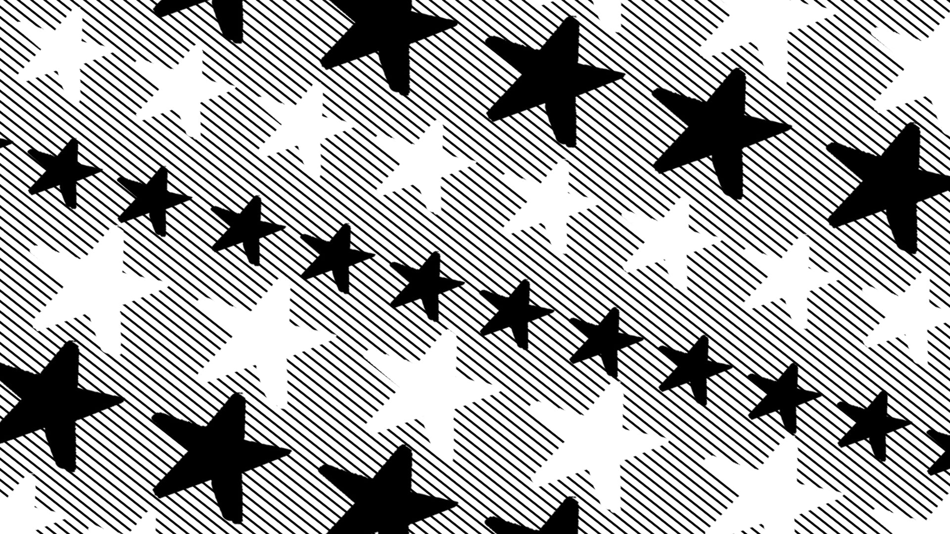 Black and White Stars and Stripes Free Desktop Download by Alarmclock Design LLC