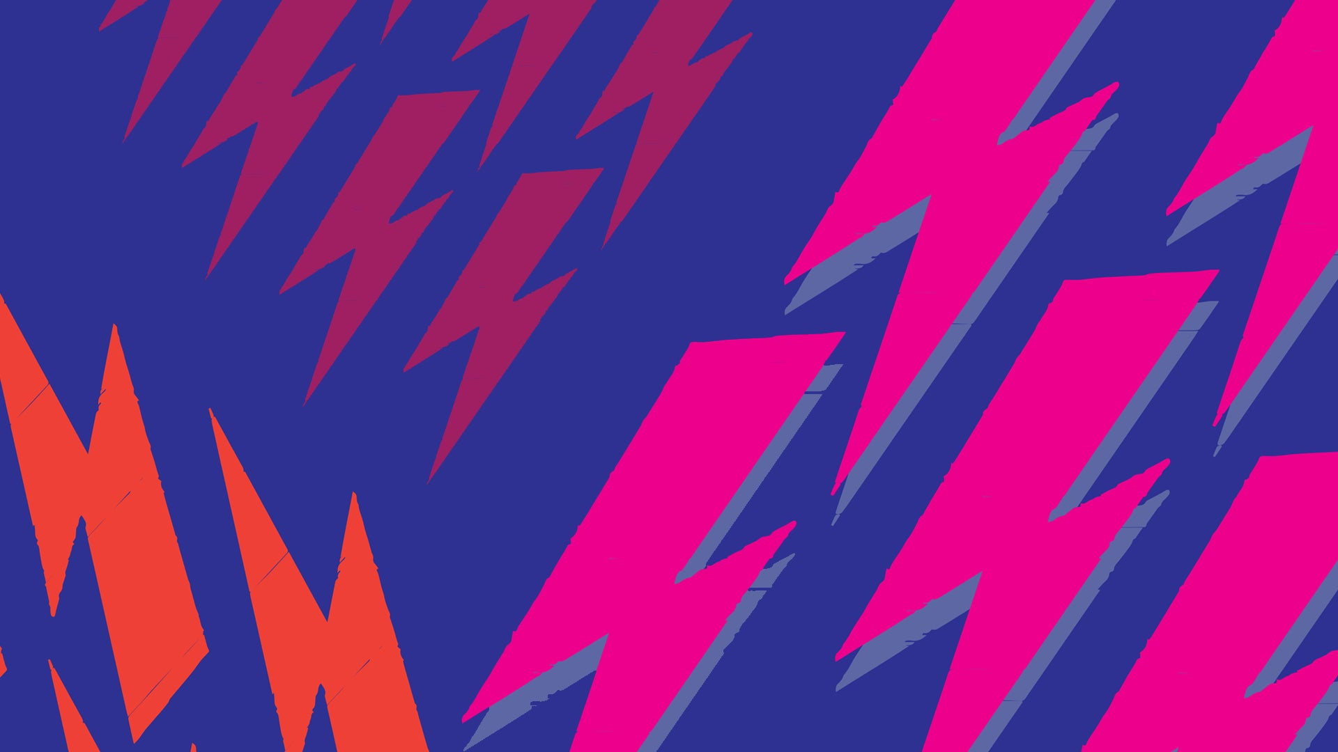 David Bowie Lightning bolts, free desktop download, Alarmclock Design LLC