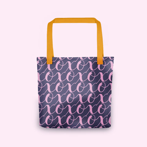 Soft Pink X's & O's Tote bag