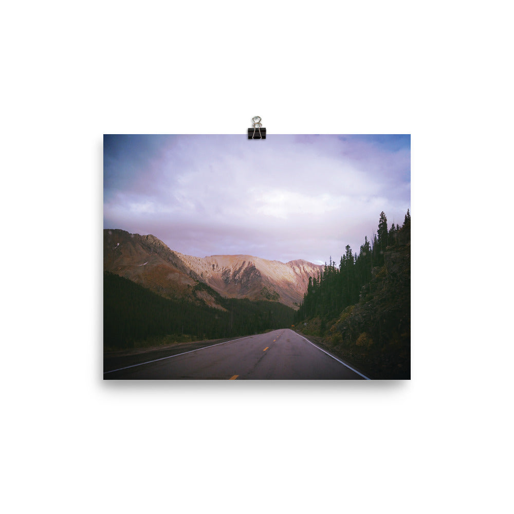 Colorado Pass | Photo paper poster