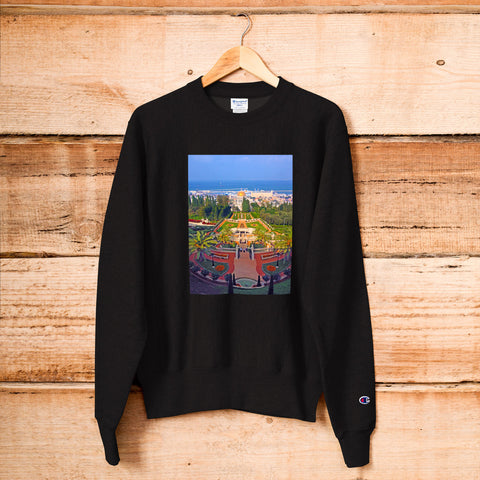 Haifa Travel Photo Champion Sweatshirt