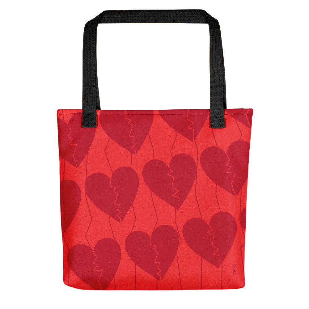 Broken Hearts Tote bag
