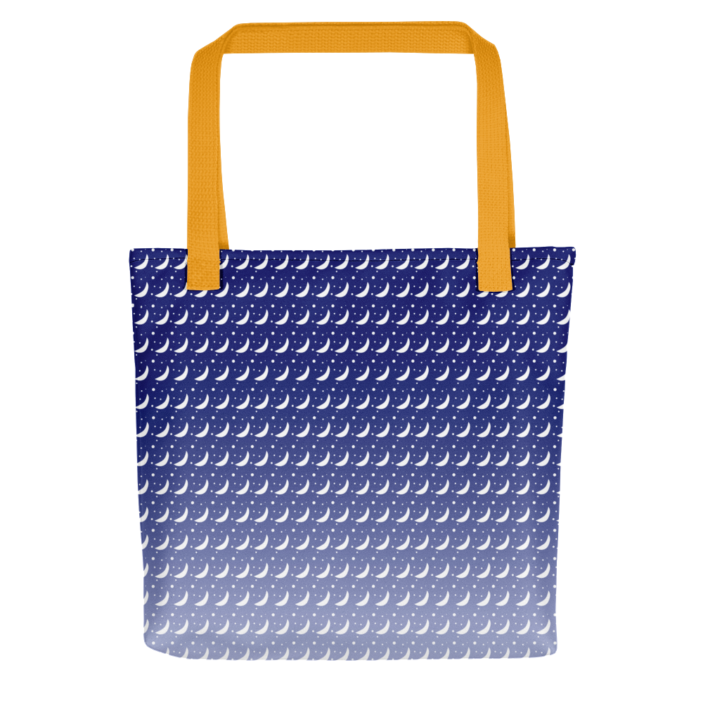 Winter's Night Sky Tote bag