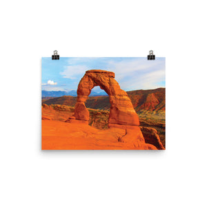 The Arches Utah Photo | paper poster