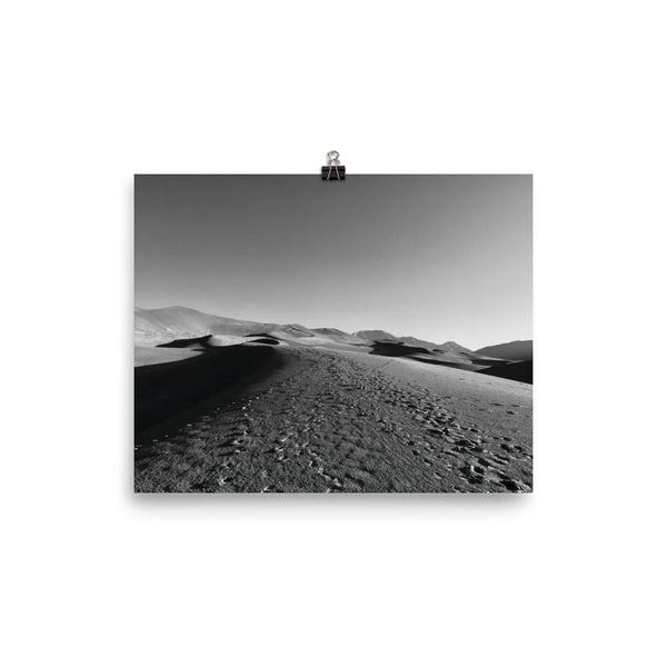 The Silence of the Dunes Photo | paper poster