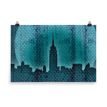 Manhattan at Dusk Poster