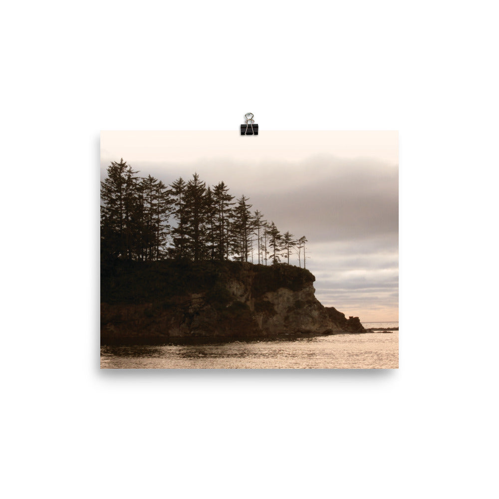 Cape's Sunset | Oregon Photo paper poster