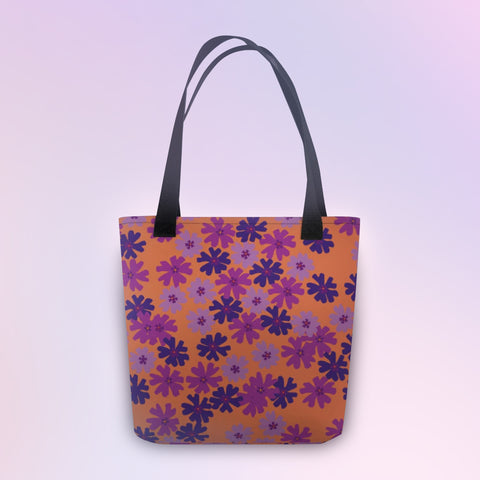 Wild Floral Tote