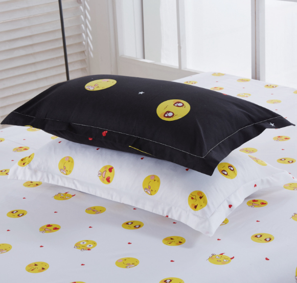 Emoji 4pc Bedding Duvet Cover and Sheets