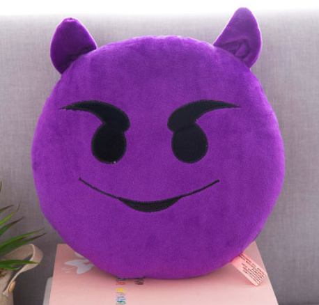 Evil Emoji Cushion