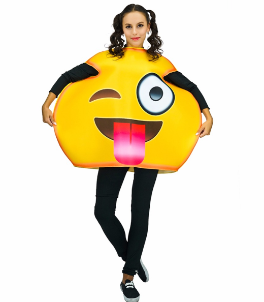 Tongue Out Emoji Halloween Costume
