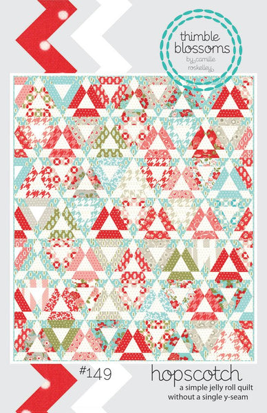 Hopscotch Quilt Pattern by Camille Roskelley of Thimbleblossoms