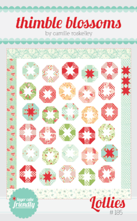 Lollies Quilt pattern by Camille Roskelley of Thimbleblossoms