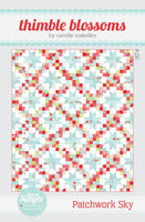 Patchwork Sky Paper !Quilt Pattern by Camille Roskelly of Thimbleblossoms