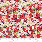 The Good Life Flower Garden in Navy by Bonnie and Camille for Moda 55155 16