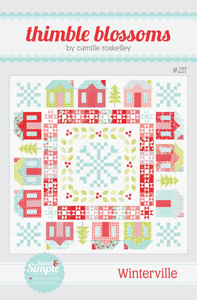 Winterville Paper Pattern by Camille Roskelly of Thimbleblossoms