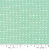 Handmade Spots in Aqua by Bonnie and Camille for Moda