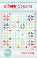 Silver Lining Paper Quilt Pattern by Camille Roskelley of Thimbleblossoms