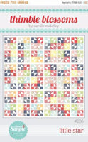 Little Star Paper Quilt Pattern by Camille Roskelley of Thimble Blossoms
