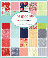 Fat Quarter Bundle of The Good Life Floral Dots by Bonnie and Camille for Moda
