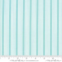 The Good Life Stripe in Aqua by Bonnie and Camille for Moda 55157 12