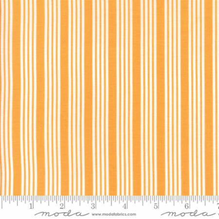 The Good Life Stripe in Orange by Bonnie and Camille for Moda 55157 18