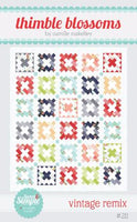 Vintage Remix Paper Quilt Pattern by Camille Roskelley of Thimbleblossoms
