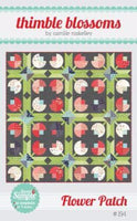 Flower Patch Quilt pattern by Camille Roskelley of Thimble Blossoms